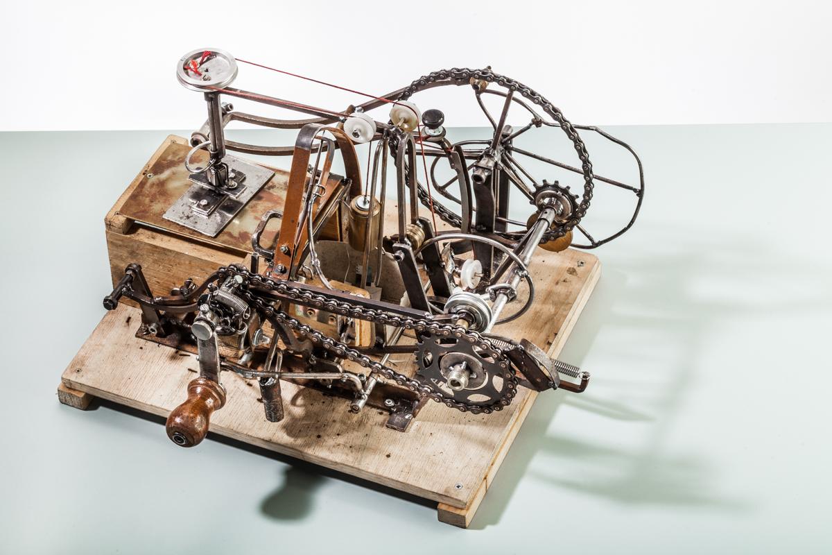 Einzelzettelschneidemaschine 2